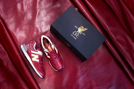 289ff6f3138 New Balance Liverpool FC 17 18 Shoe Bag Bags & Luggage LFBSHOE7 HRD High  Risk Red Source · New Balance 576 Liverpool FC New Balance Gallery